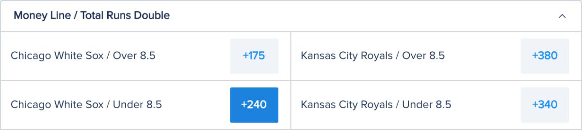 Betting Odds via FanDuel Sportsbook – Game Time 8:10 p.m. ET