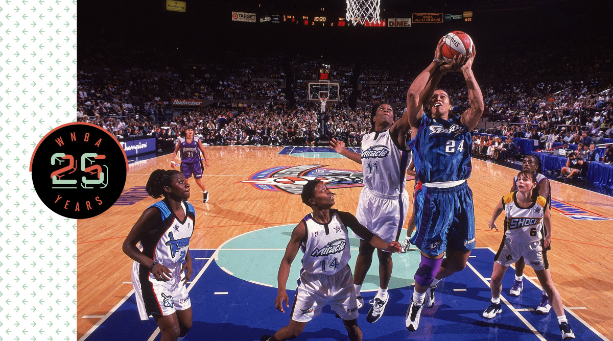 The first WNBA All-Star Game, in 1999