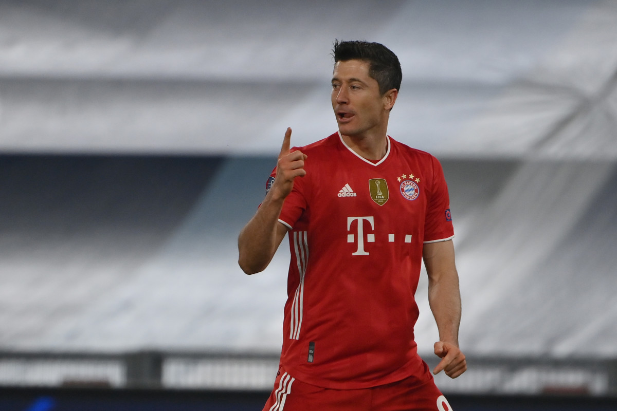 Lewandowski could be on the move at the end of the season.
