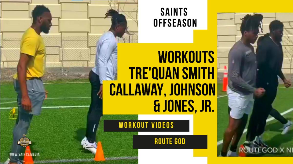 Saints Workouts Smith Routegod