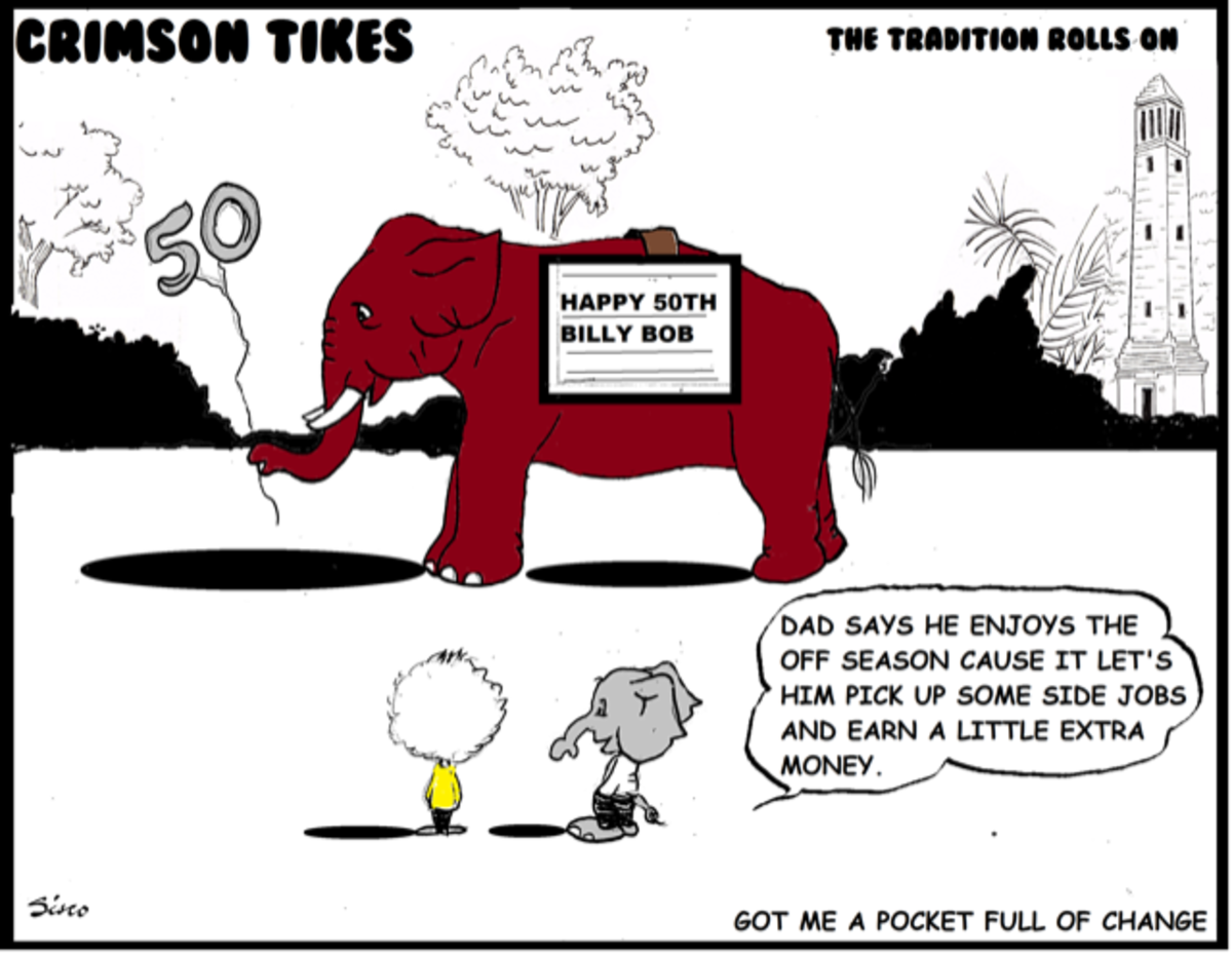 Crimson Tikes: Got Me a Pocket Full of Change