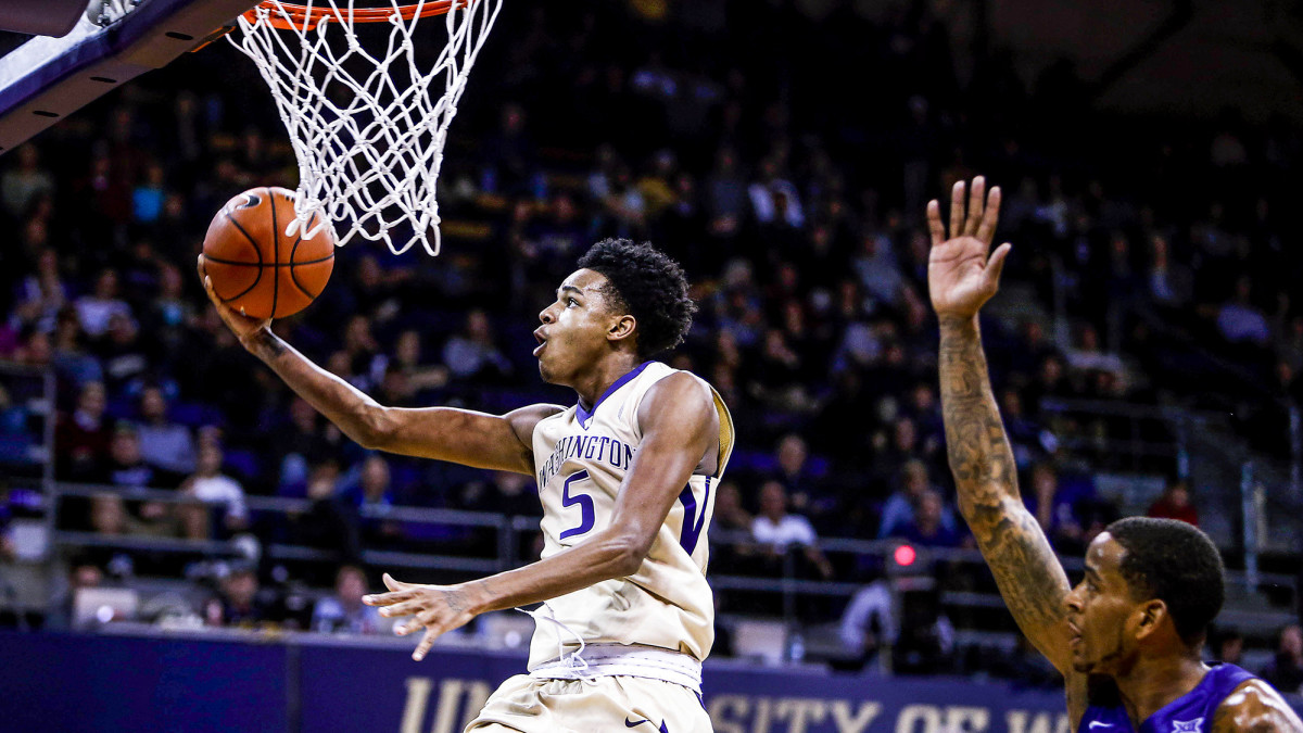In his lone season as a Husky, Murray averaged 16.1 points, 6.0 rebounds and 4.4 assists per game.