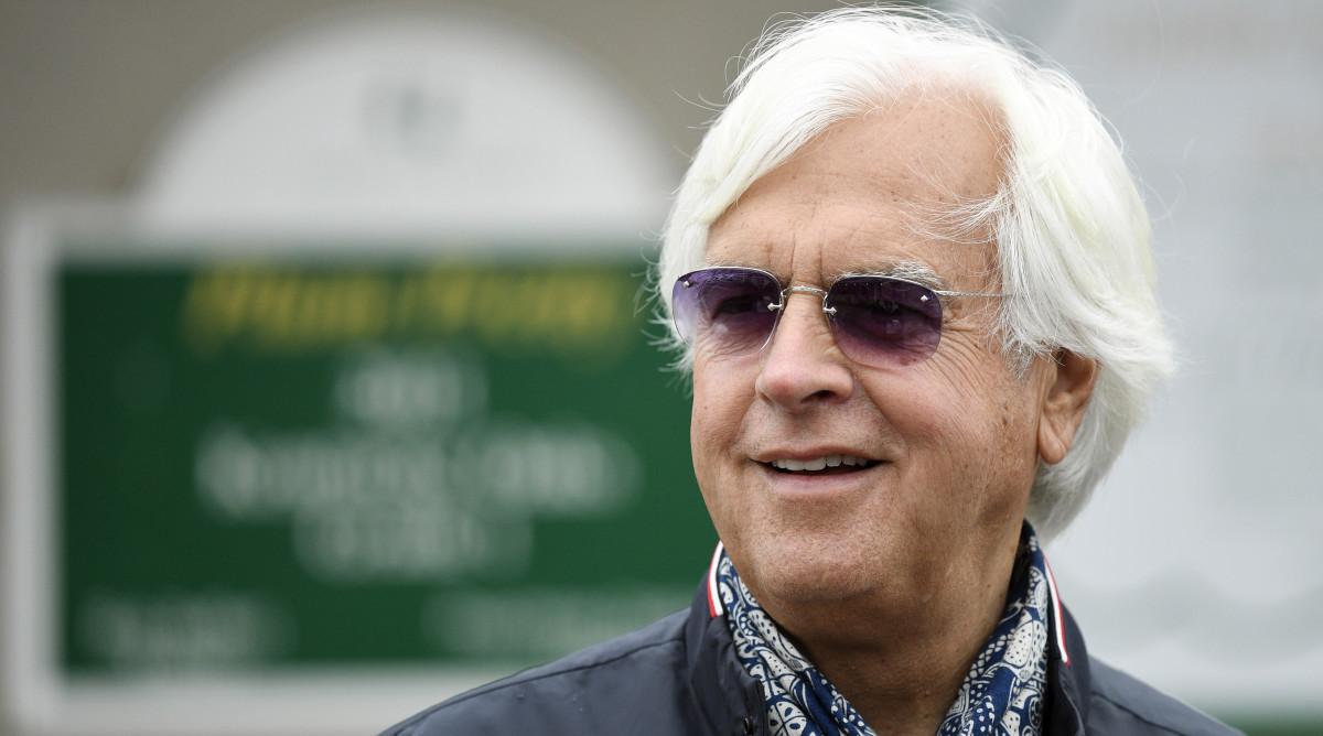 Horse trainer Bob Baffert