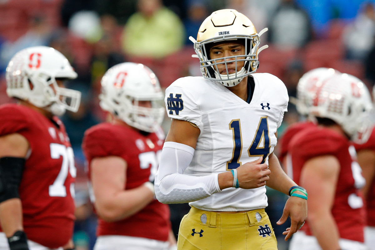 Notre Dame's Kyle Hamilton may be one of the best safety prospects in recent years