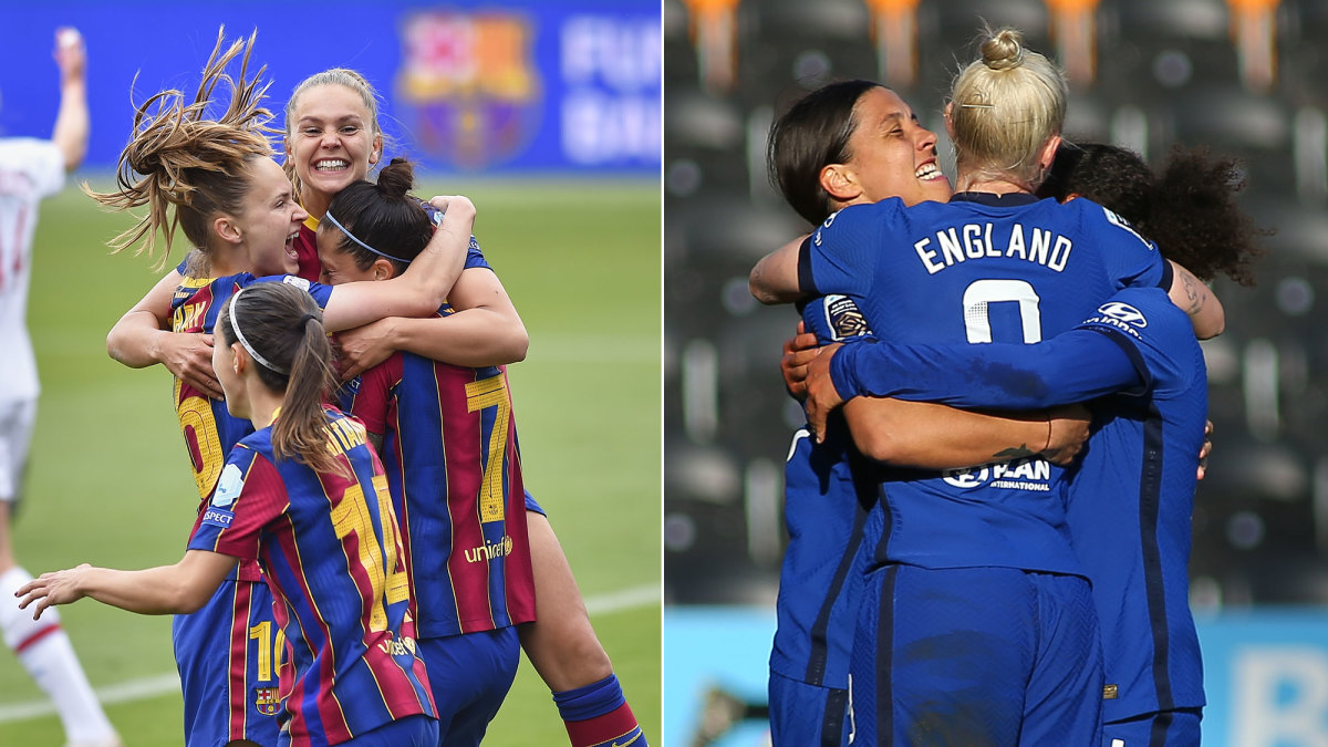 Barcelona and Chelsea will play for the Women's Champions League title