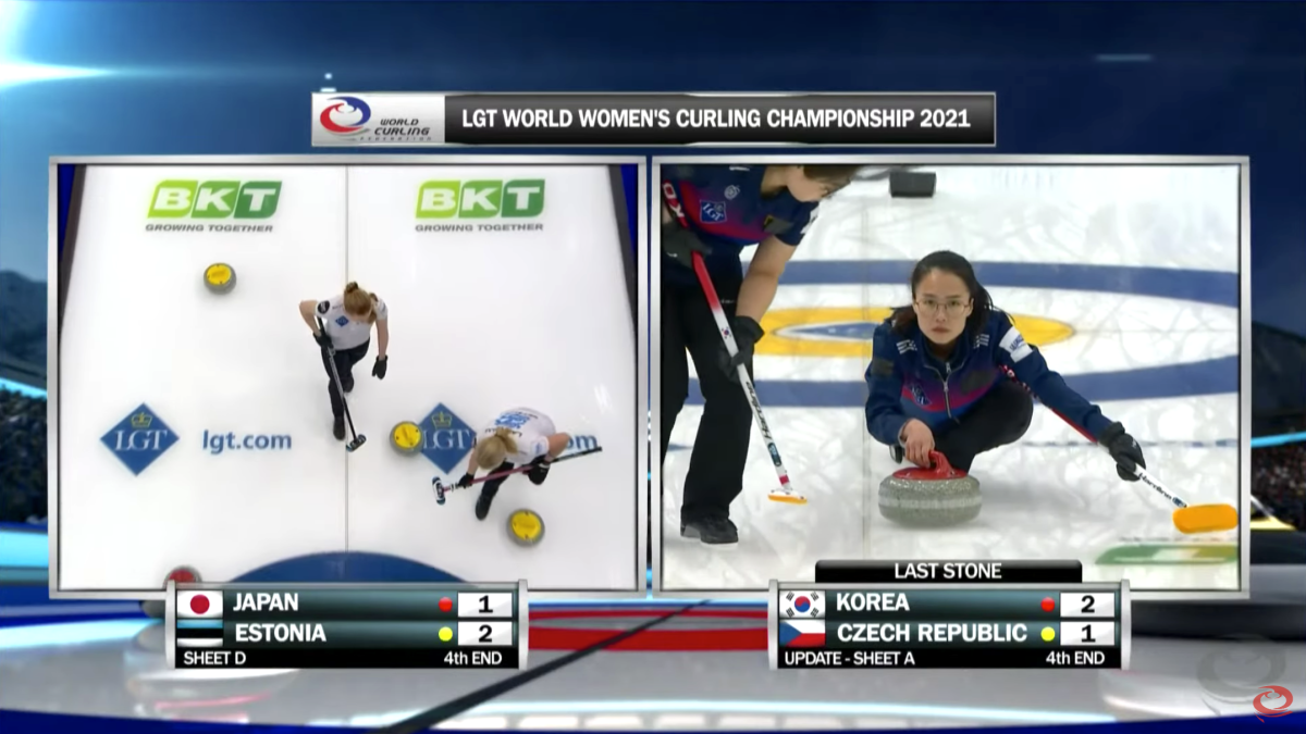 WCTV curling is professionally produced