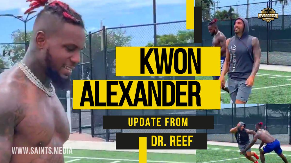 Kwon Alexander Update Dr Reef
