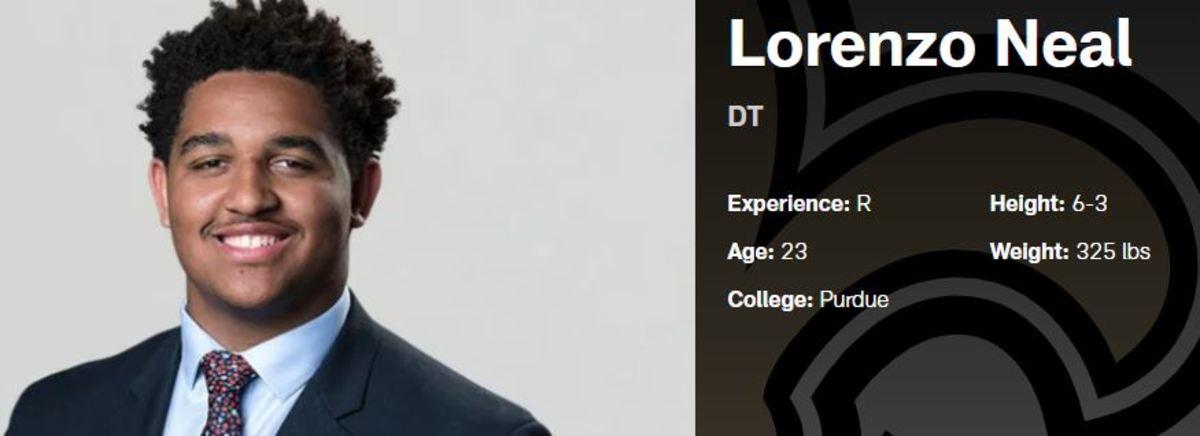 Lorenzo Neal, Jr. - Saints Defensive Tackle
