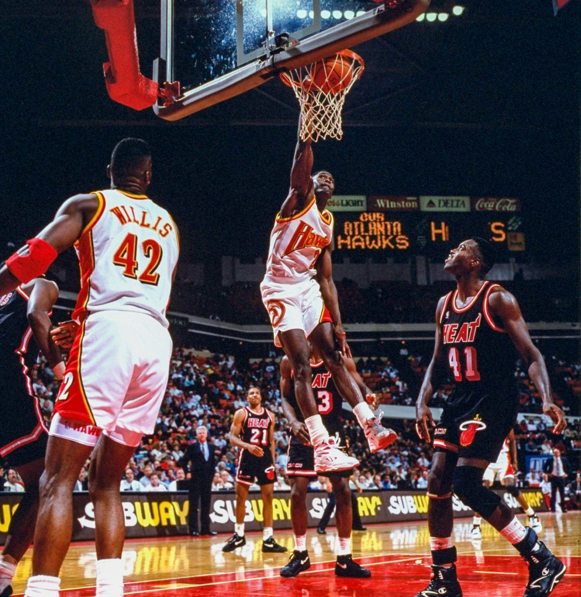 Dominique Wilkins was the last Hawk to be an undisputed superstar.