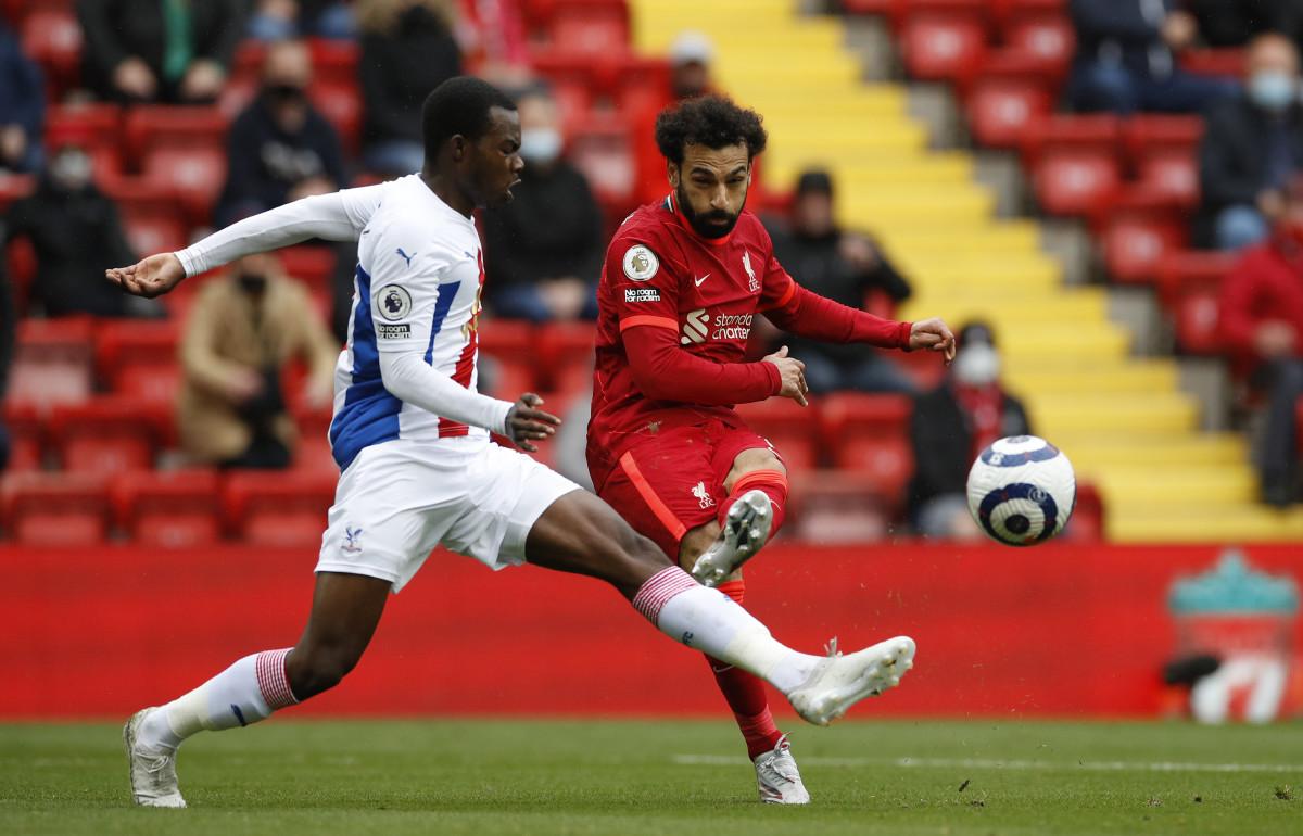 Mohamed Salah Crystal Palace