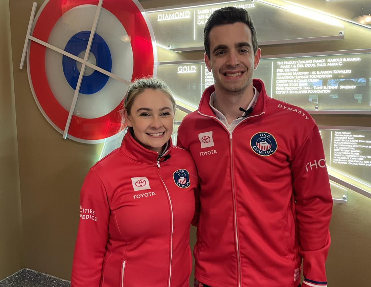 Bear and Stopera • USA Curling
