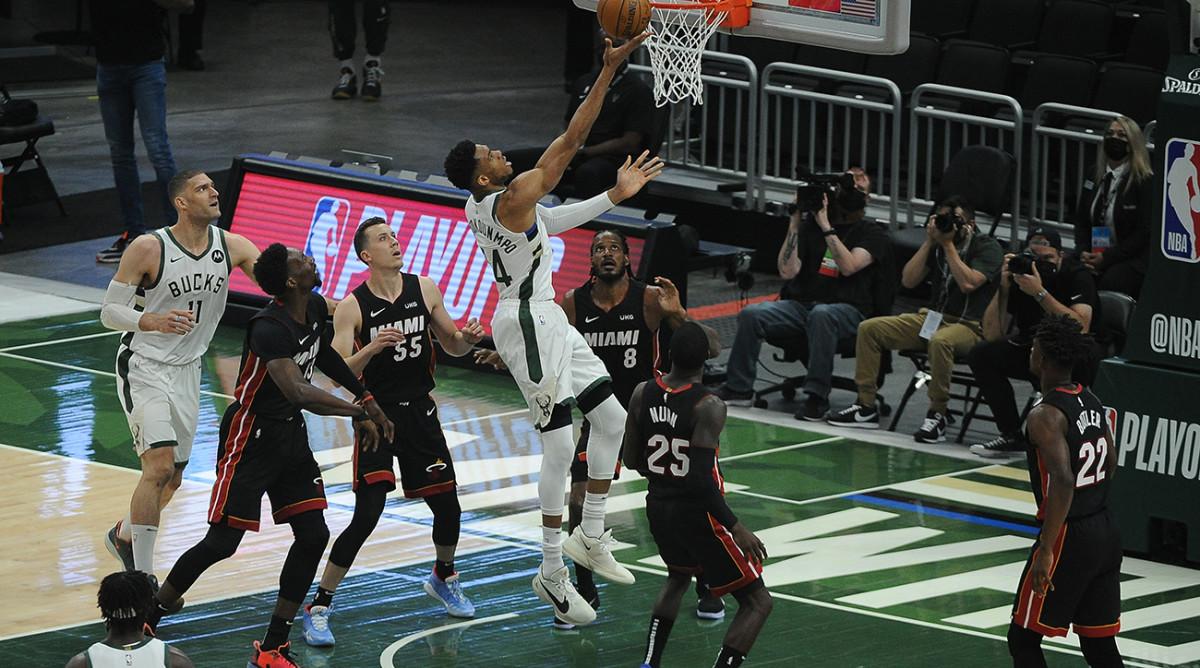 Milwaukee Bucks beat Miami Heat in Game 2