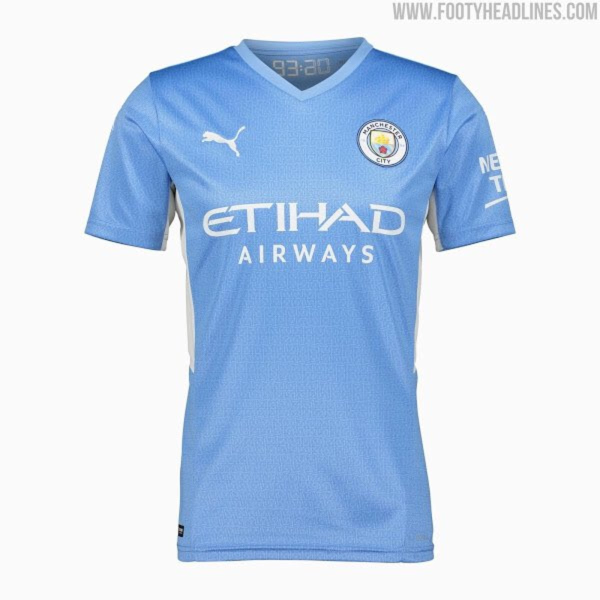 Leaked First Official Product Photos Of 2021 2022 Man City Home Shirt Sports Illustrated Manchester City News Analysis And More