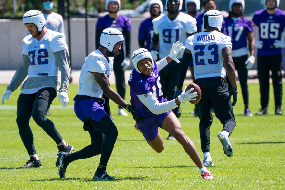 Vikings OTA Practice Recap, May 26: Hunter Absent, Jefferson and Peterson Shine - Sports Illustrated