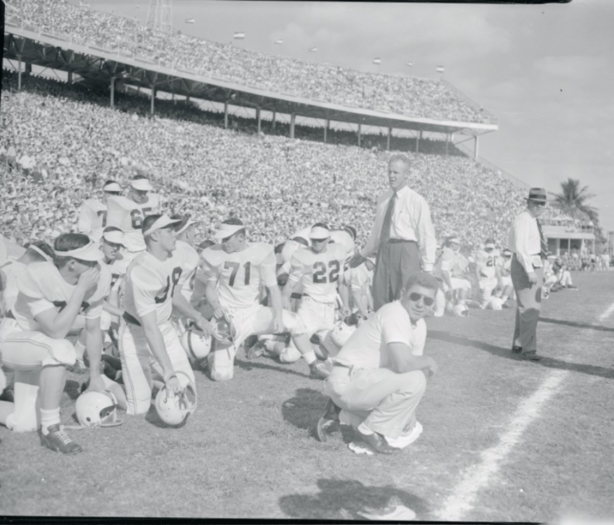 Bud Wilkinson, 1956 Orange Bowl