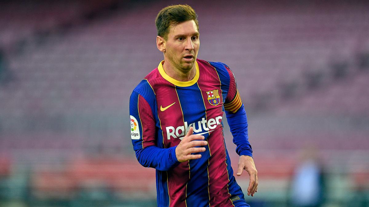 Lionel Messi's Barcelona contract expires in June