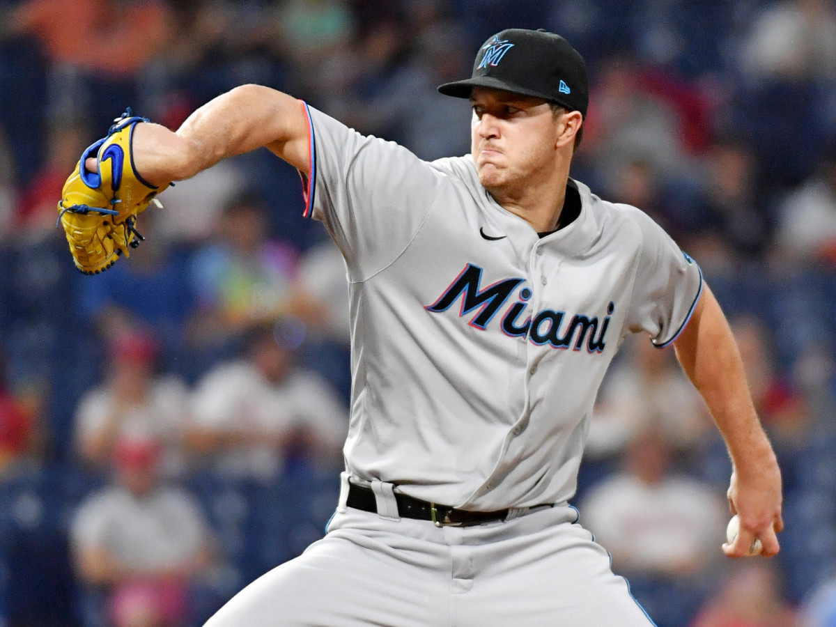 Marlins lefthander Trevor Rogers has been one of the best pitchers in baseball over the first two months of the season.