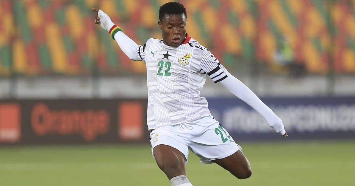 Fatawu Issahaku features for Ghana's U20 side.