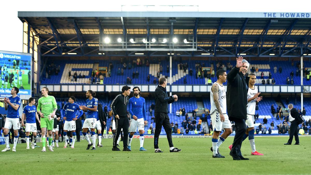 Everton moves forward without Carlo Ancelotti