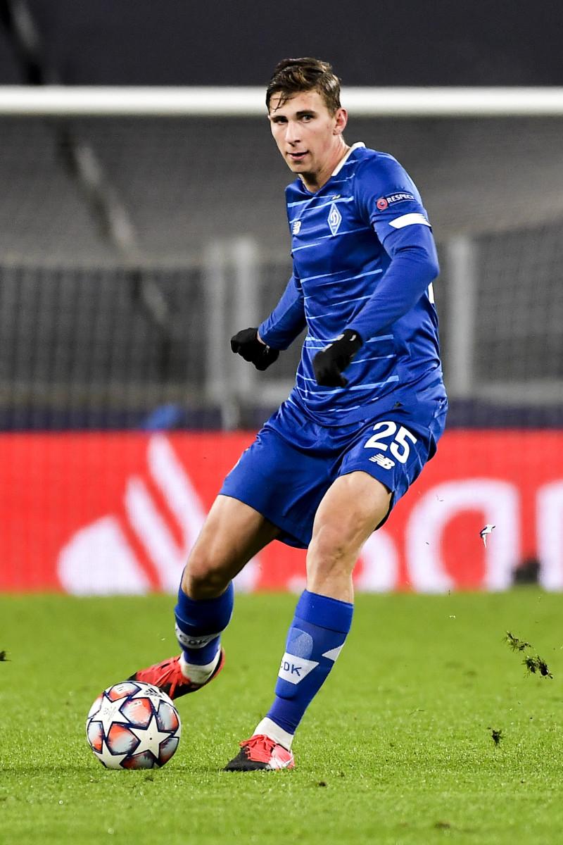 Zabarnyi was allegedly scouted by ex-Chelsea striker Andriy Shevchenko
