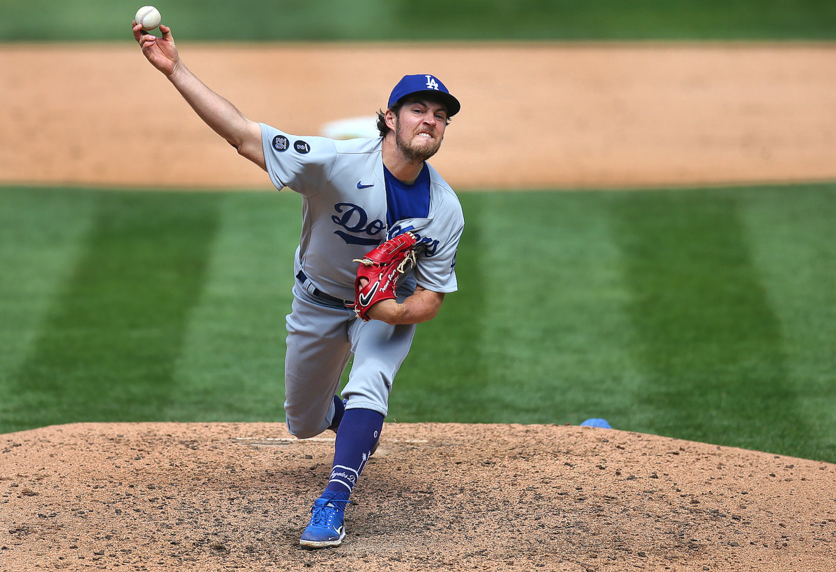 The Dodgers' Trevor Bauer has been at the center of the spin rate storm: There is no proof he uses sticky stuff, but the increase of spin on his four-seam fastball, from an average of 2,358 rpm in 2019 to2,835 this season, has drawn notice from many in the game.
