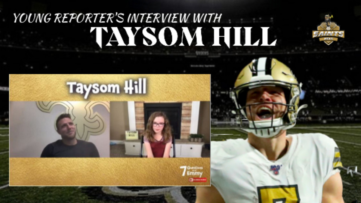 Young Reporter Interview - Taysom Hill