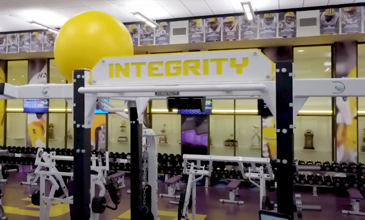 LSU Weight Room with Perch
