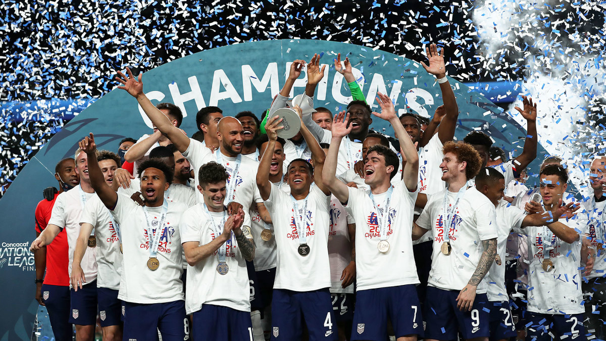 The USMNT wins the Concacaf Nations League title