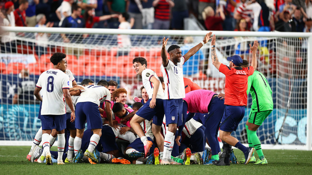 The USMNT beats Mexico in the Nations League final