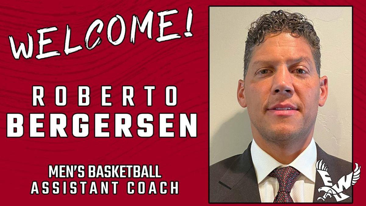 Ex-Husky Roberto Bergersen Joins Eastern as Assistant Coach