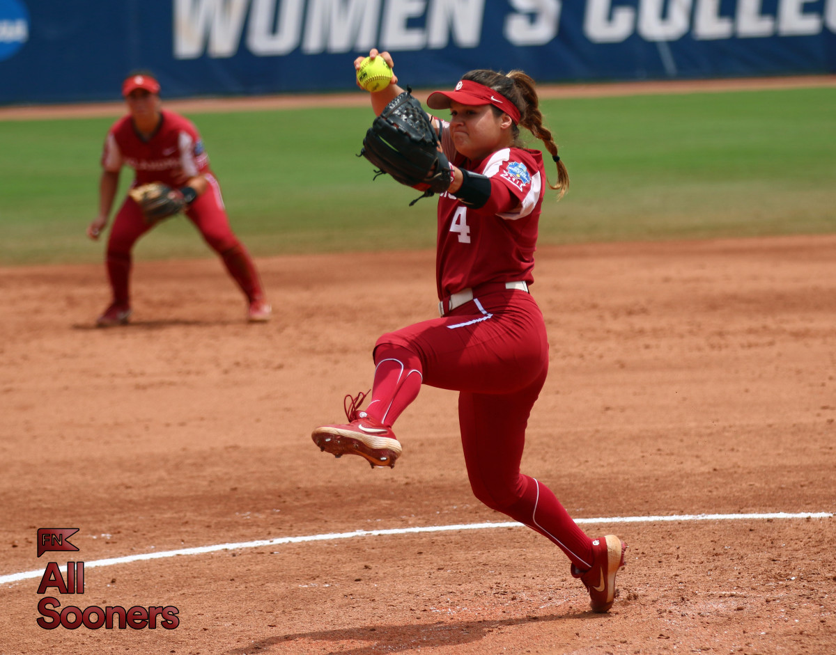 Shannon Saile only allowed three runs in 14 2/3 innings in the WCWS, striking out 11 batters in the World Series