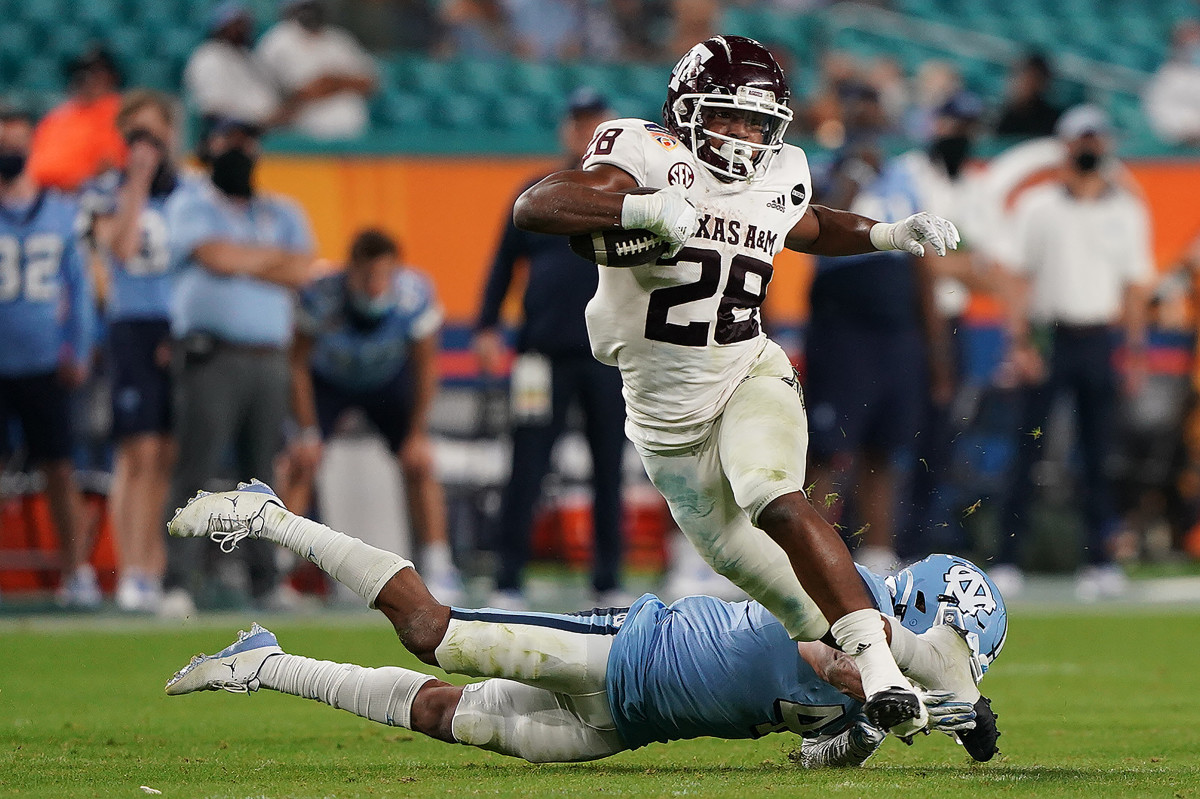 Isaiah Spiller has proved to be one of the best backs in the upcoming draft class.