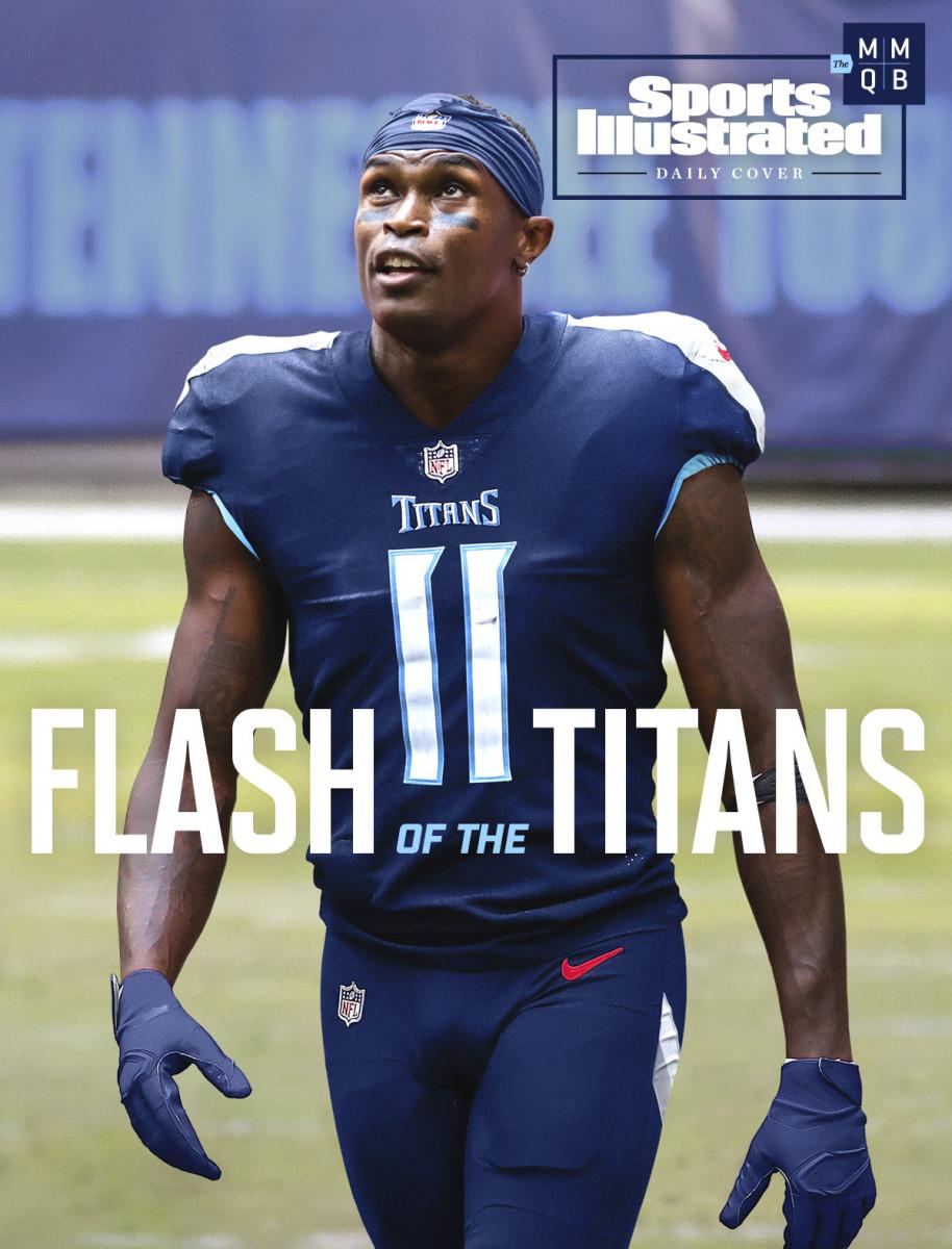 Julio Jones trade to Titans SI Daily Cover