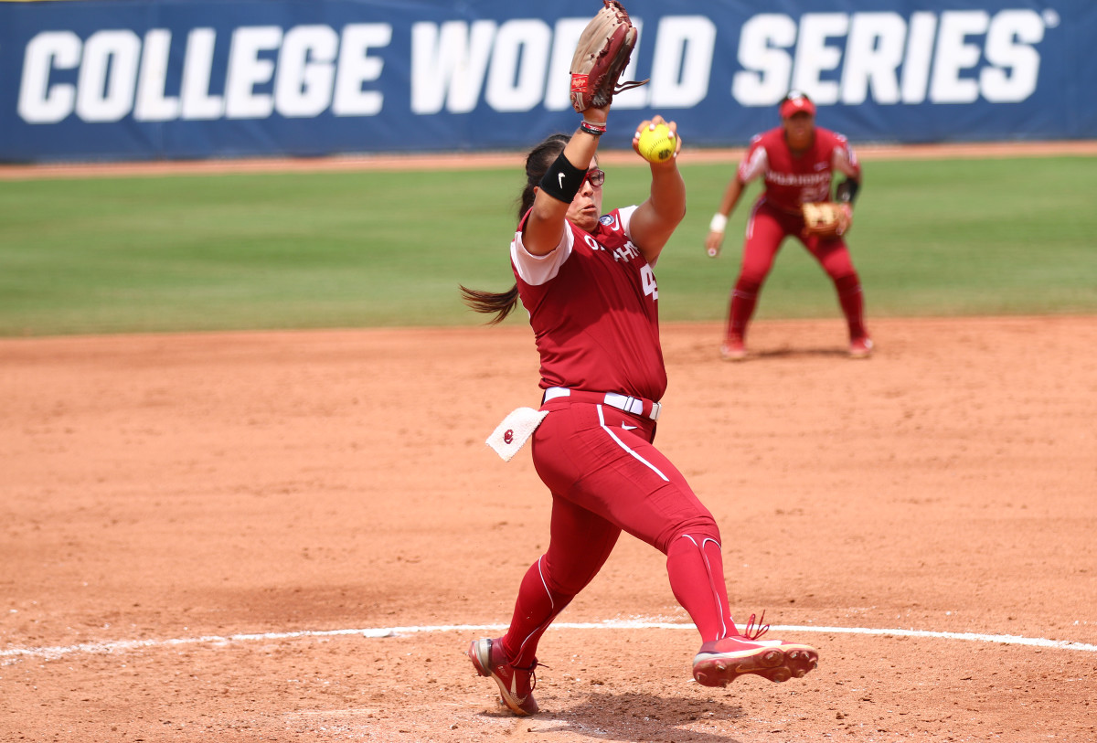 Giselle Juarez fired the Oklahoma Sooners to the National Championship Series