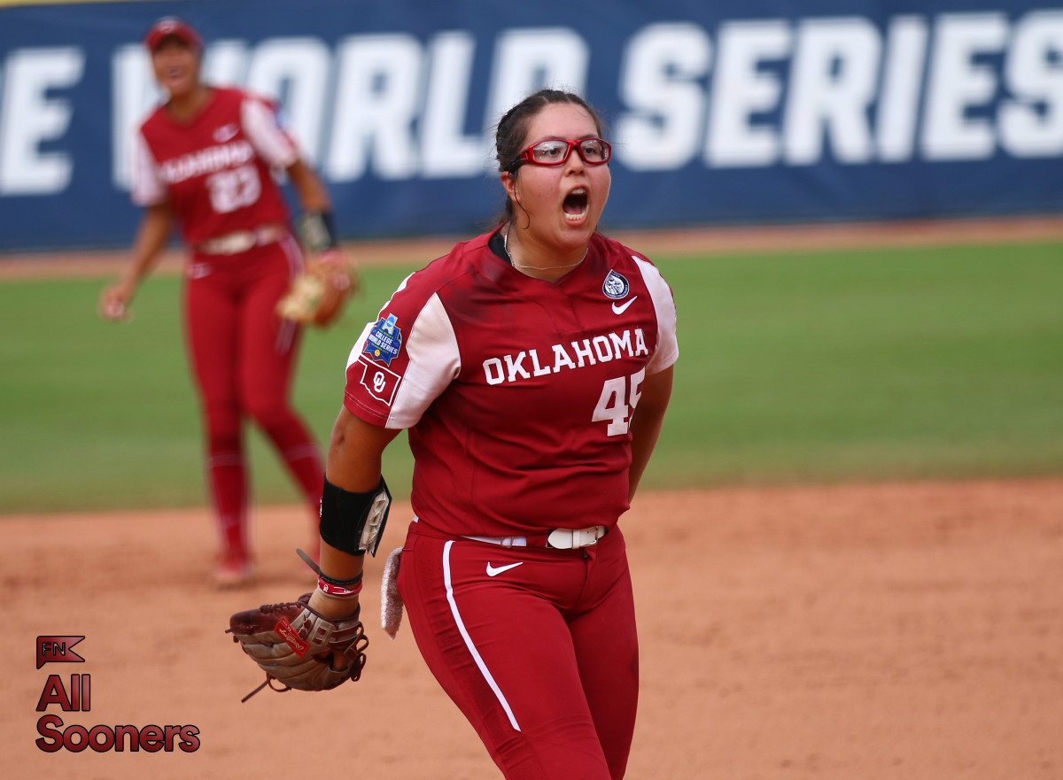 Giselle Juarez has been dominant in Oklahoma City, striking out 31 batters in the Women's College World Series