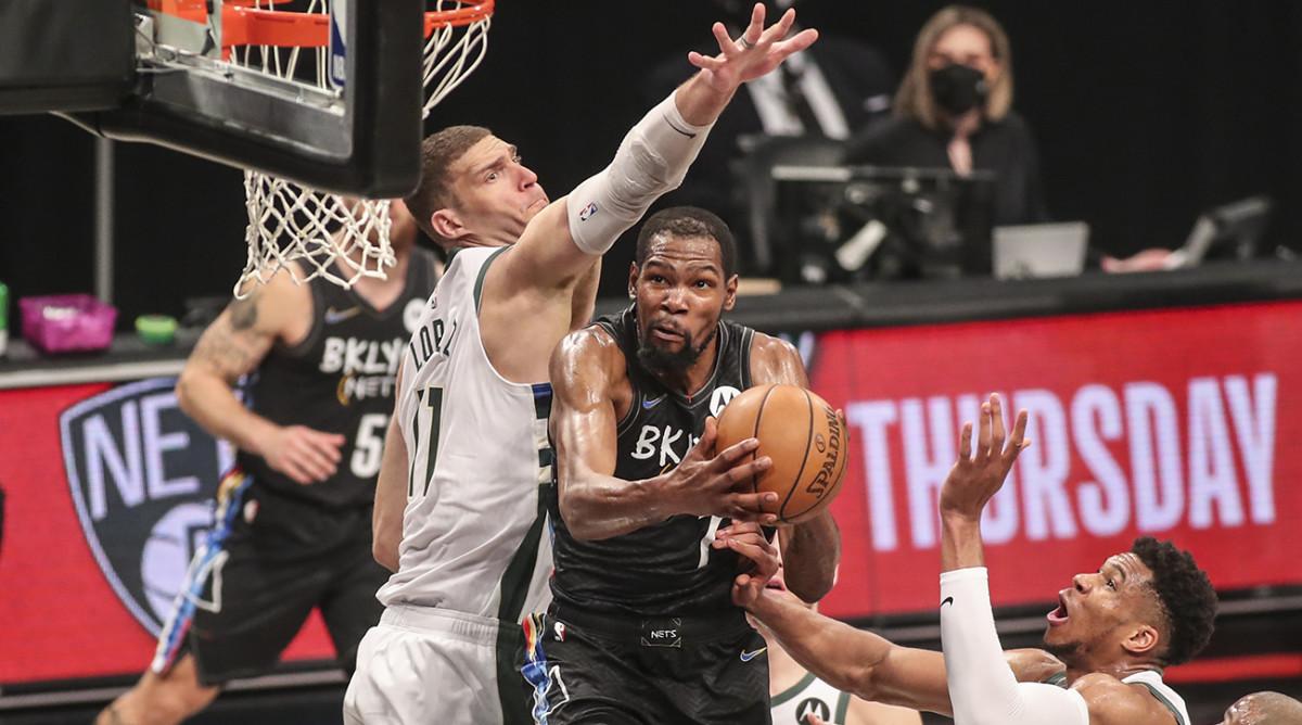 Playoff NBA- I Nets vincono e si portano sul 3-2 nella serie contro i Bucks