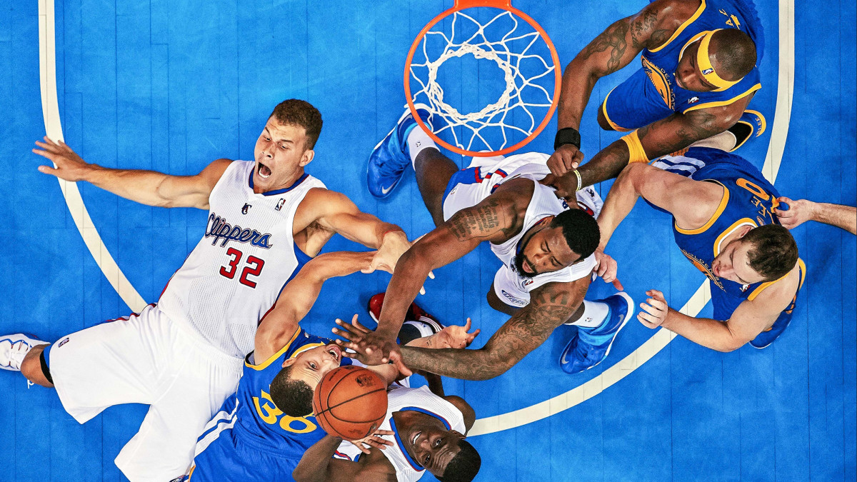 Griffin (32) and the Clippers knocked off the Warriors in Round 1 in 2014, but they predictably flopped in their next series, against the Thunder.