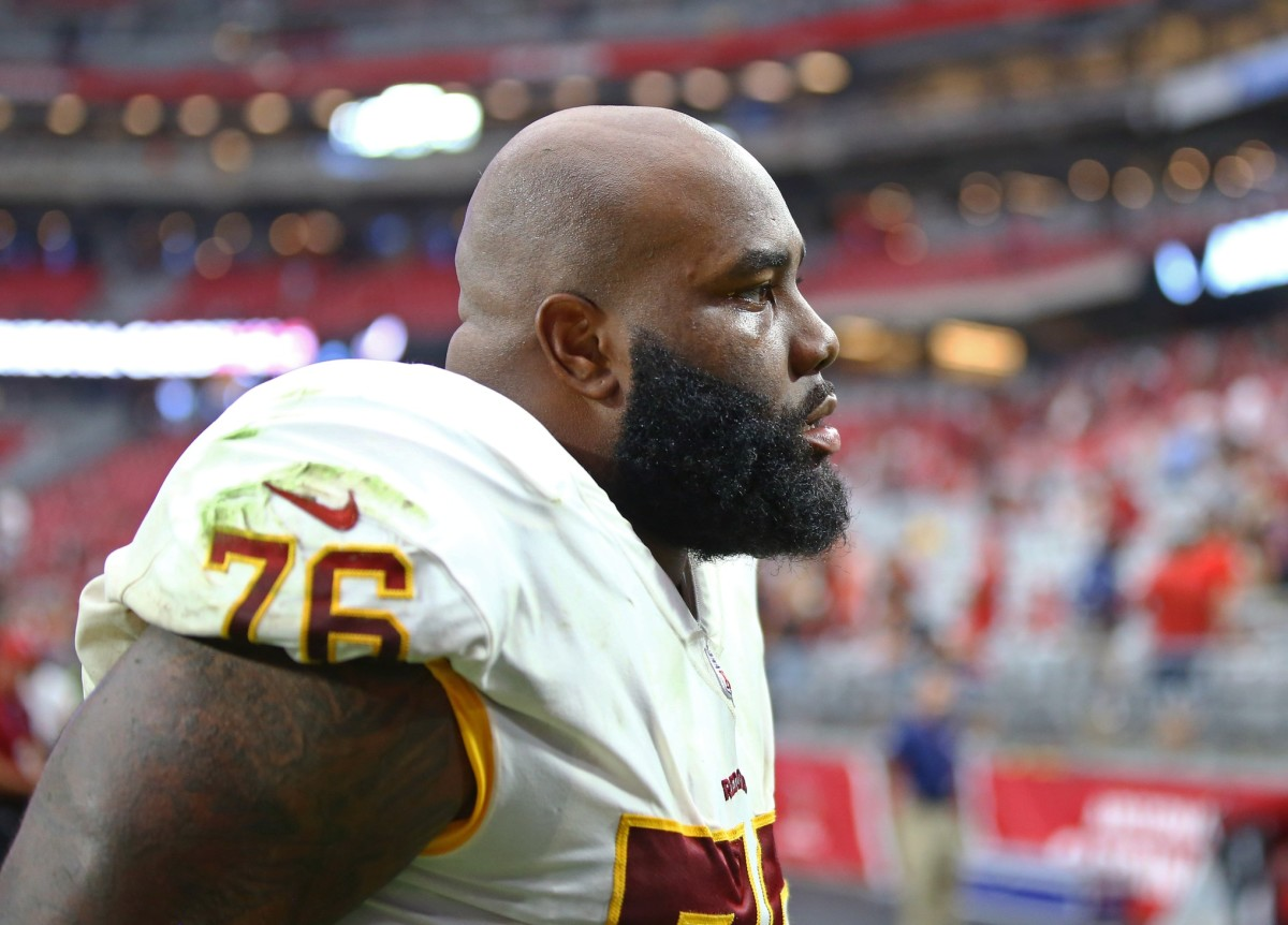 New York Jets interested in signing right tackle Morgan Moses ...
