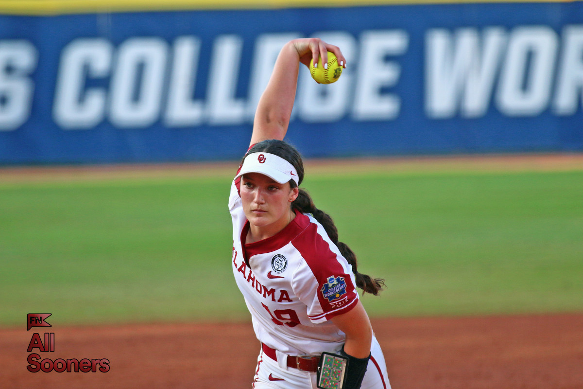 Oklahoma's Nicole May surrendered seven runs on seven hits against Florida State on Tuesday