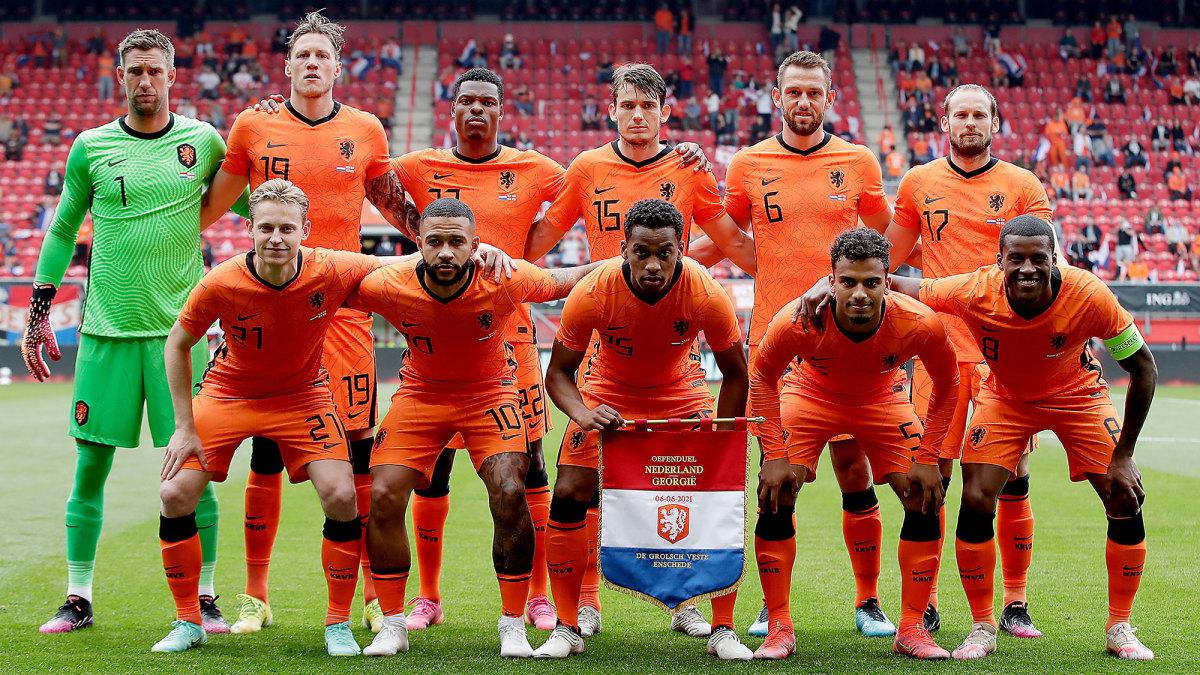 The Netherlands enter Euro 2020