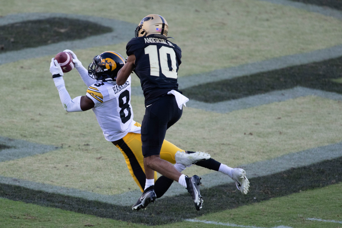 Matt Hankins is one of the better cornerbacks in college football and is severely underrated.