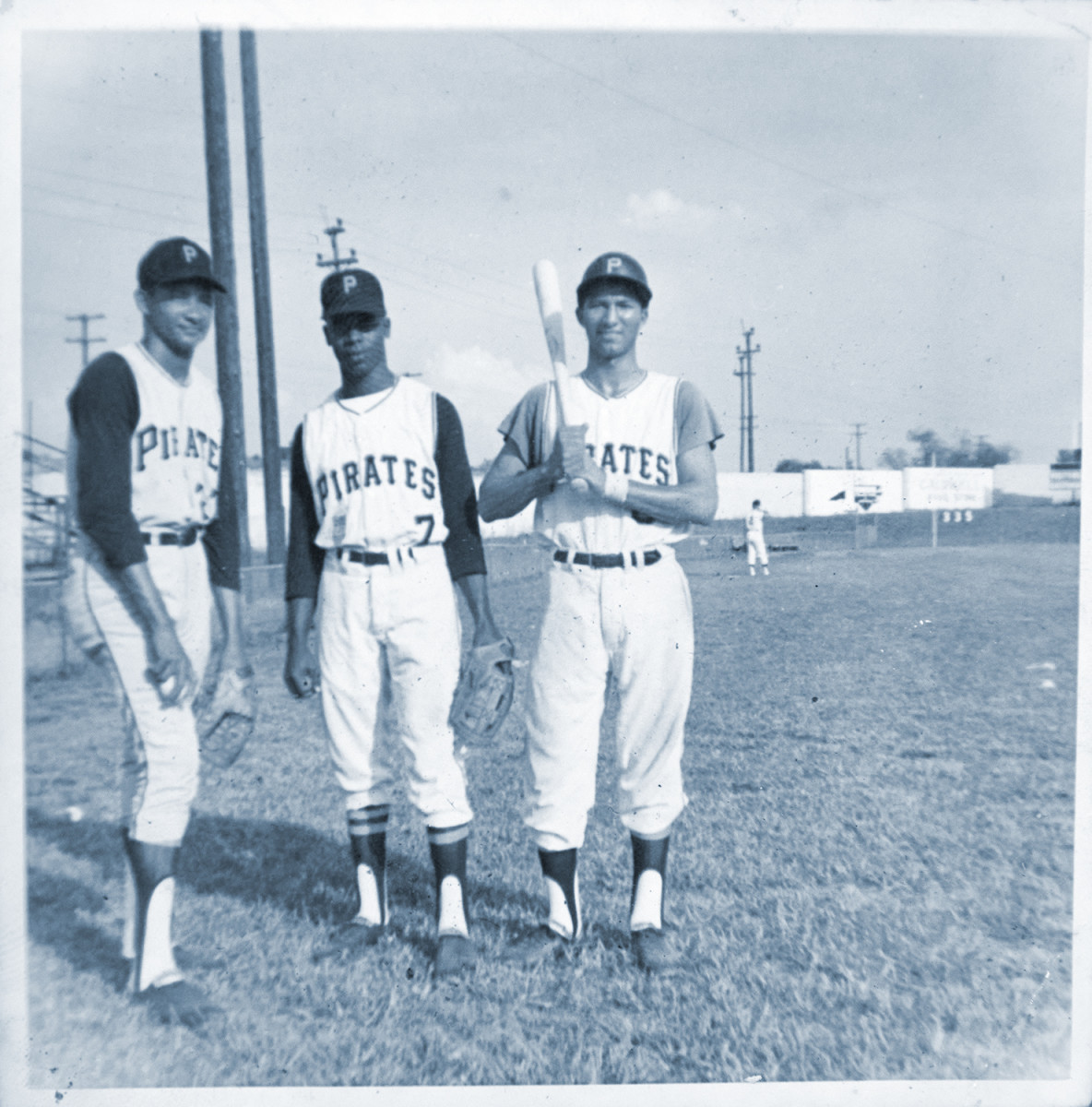 Countrymen Cruz, Edmead and Diloné (left to right) starred for Salem of the Carolina League in 1974.