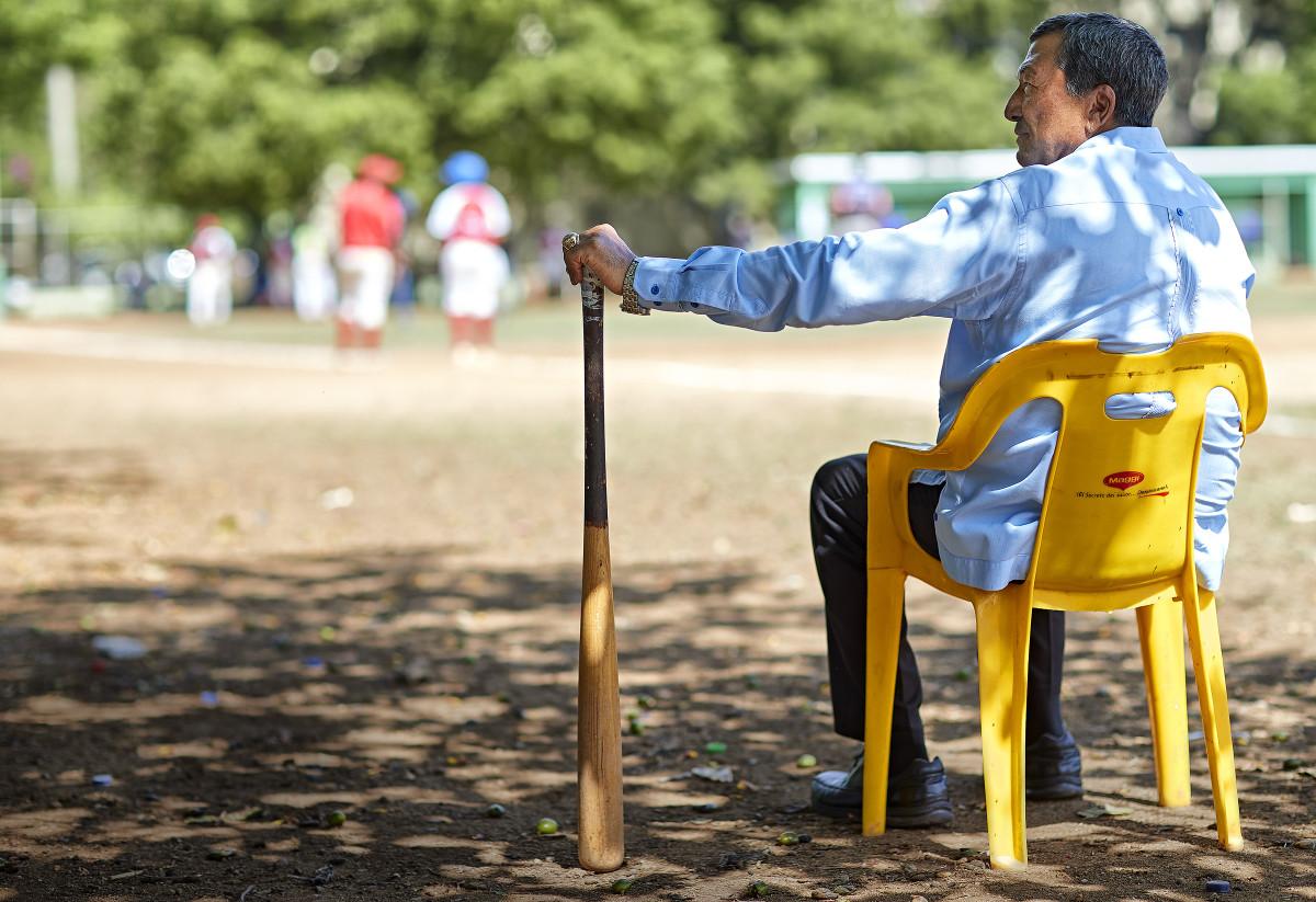 Cruz still runs youth programs at home in the Dominican Republic.