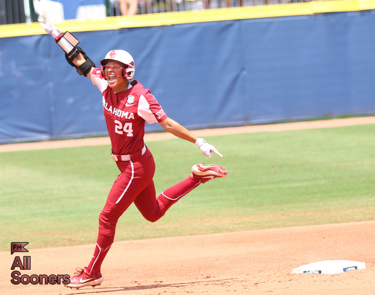 Jayda Coleman finished the Women's College World Series with six RBIs