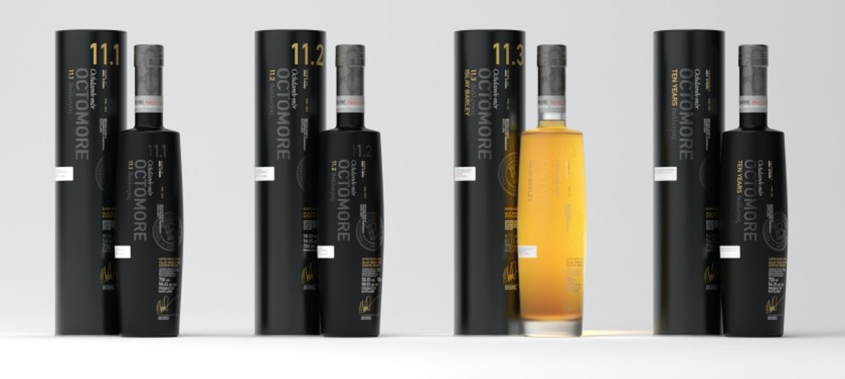 Bruichladdich broke from the norm in 2020 and released all four of its limited-edition whiskies at the same time — just in time for the holidays.