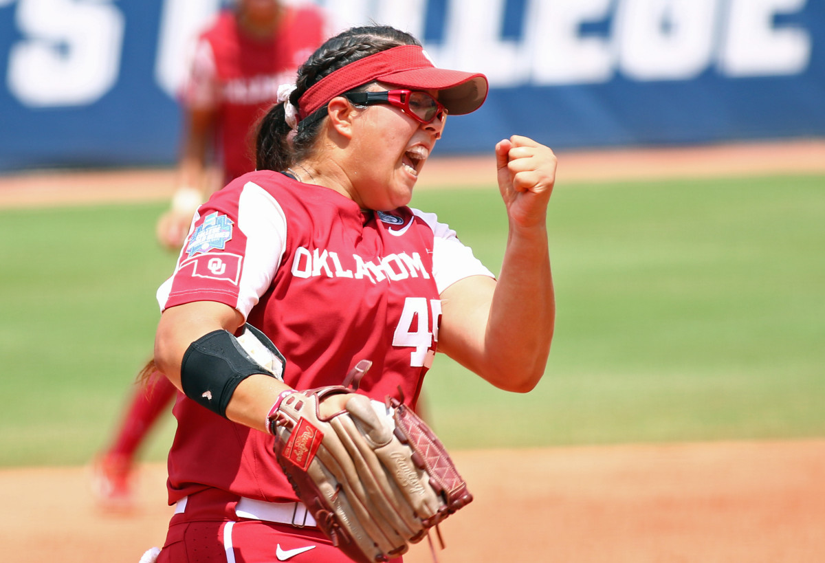 Giselle Juarez struck out 38 batters in five appearances at the Women's College World Series