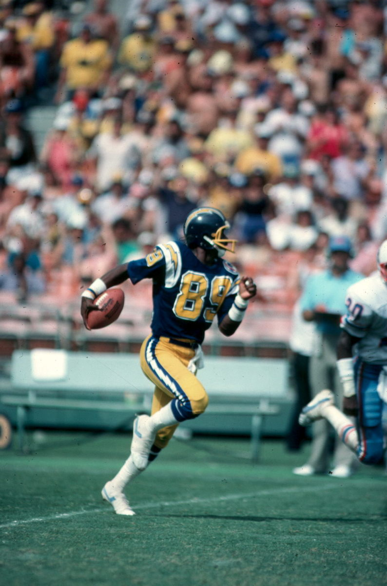 """Chargers' star receiver Wes Chandler: """"Don Coryell changed the game."""""""