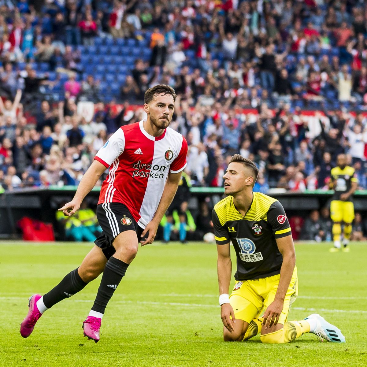 Kökçü scores versus Southampton in a pre-season friendly in 2019