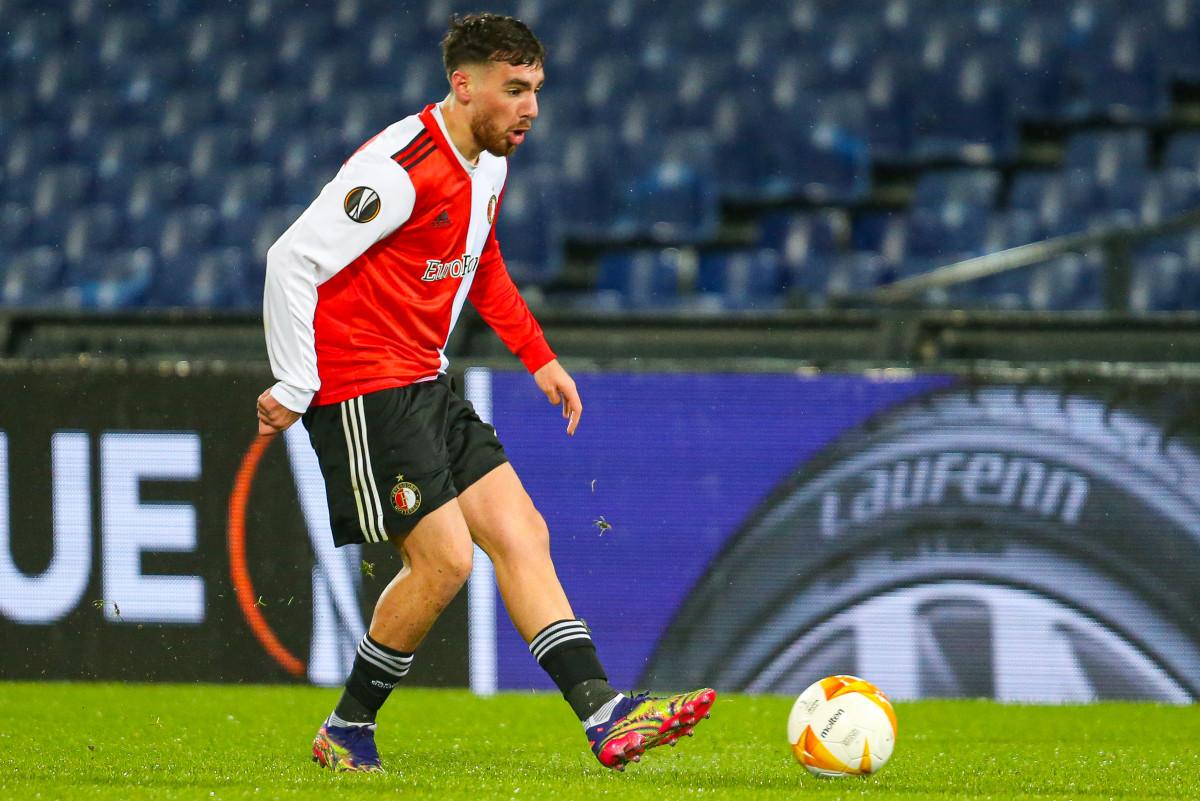 Kökçü has played 11 Europa League games with Feyenoord