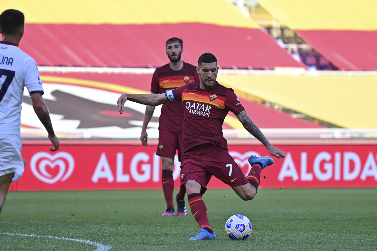 Pellegrini has led by example this season as newly-appointed captain of theGiallorossi